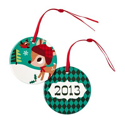 You Name It Ornament by Amy Blay (Deer)