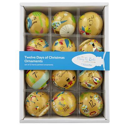 Lisa Congdon Ornaments (Set of 12)