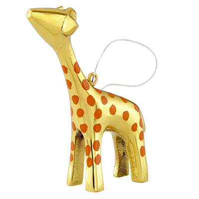 Metal Safari Ornament (Giraffe)