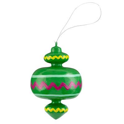 Vintage Patterned Ornament (Green)