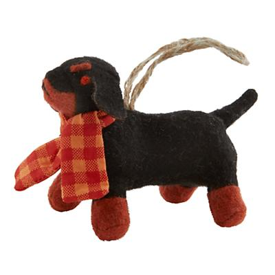 Woodland Prep Ornament (Daschund)