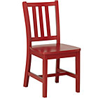 """Tomato Red Parker Play ChairFloor to Seat: 14"""" H"""