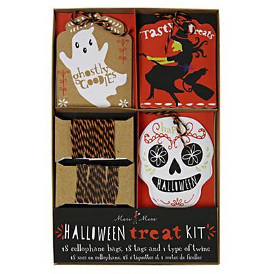 Halloween Treat Bag Kit (Set of 18)