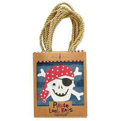 Ahoy Pirate Party Bags (Set of 8)