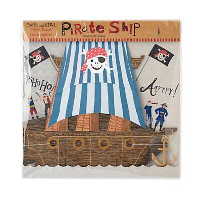 Ahoy Pirate Ship Centerpiece