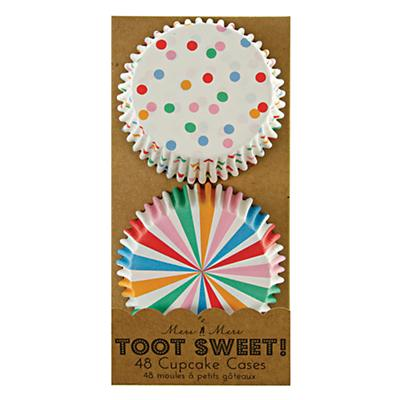Toot Sweet Cupcake Liners (Set of 48)