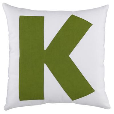 "ABC ""K"" Pillow"