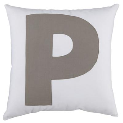 "ABC ""P"" Pillow"