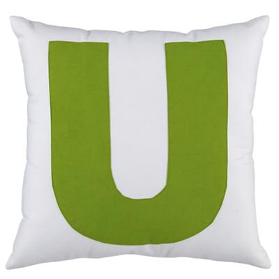 "ABC ""U"" Pillow"