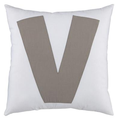 "ABC ""V"" Pillow"