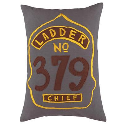 Fire Cadet Badge Throw Pillow
