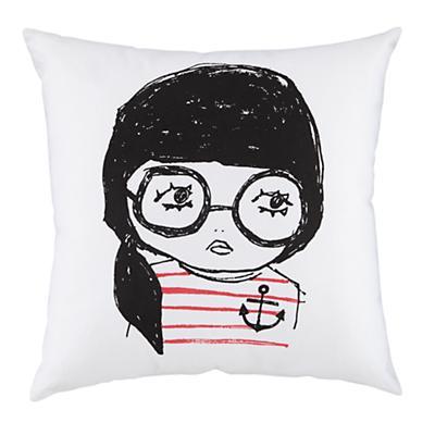 Anchor Girl Pillow