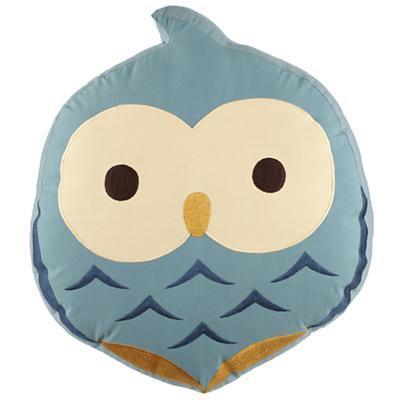 Honey Bunny Throw Pillow (Owl)