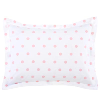 Pink Pastel Dots Sham