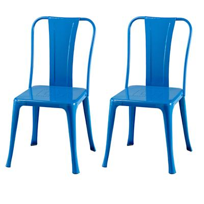 Set of Two Iron Rich Play Chairs (Cobalt)