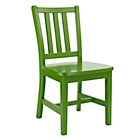 """Green Parker Play ChairFloor to Seat: 14"""" H"""