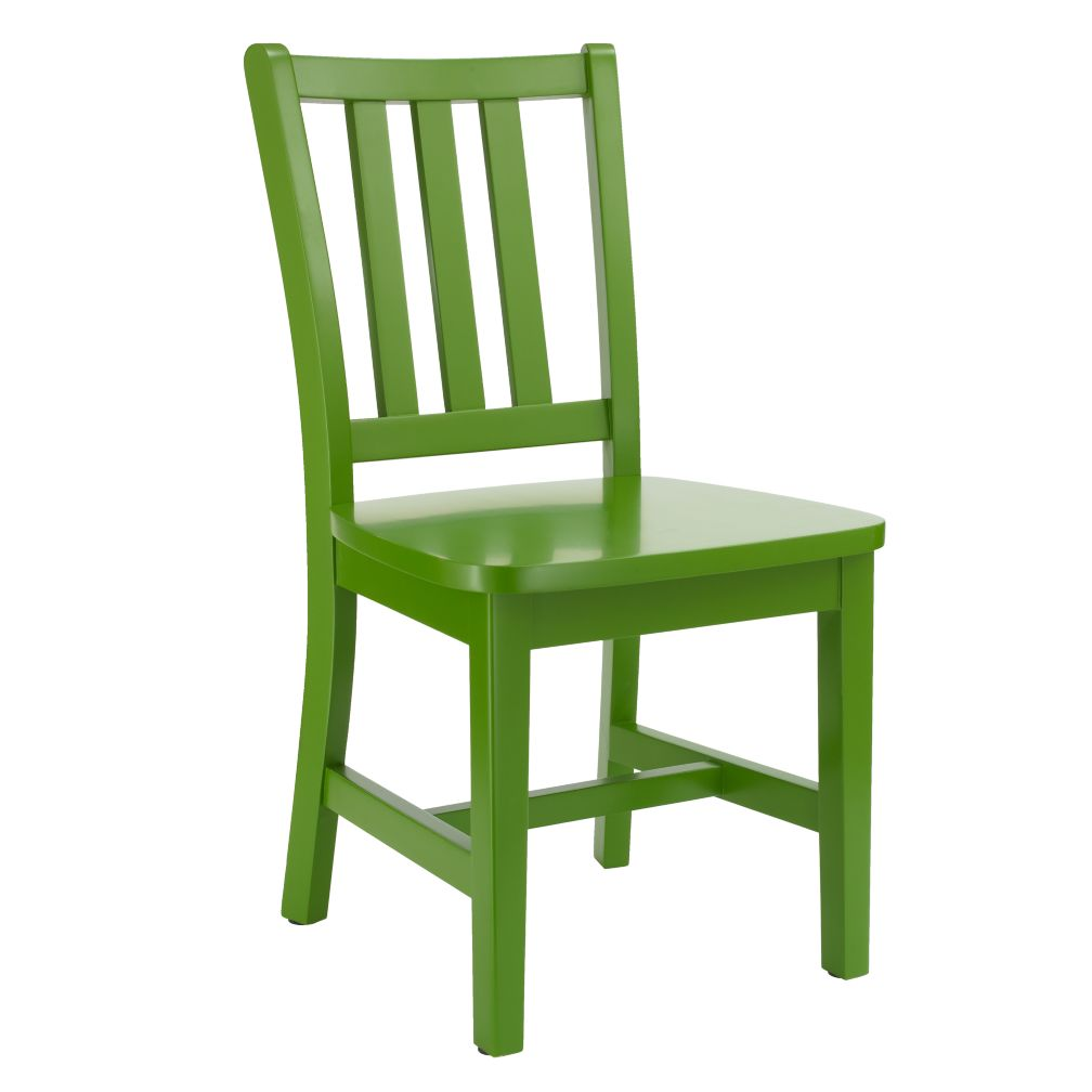 "Green Parker Play Chair<br />Floor to Seat: 14"" H"