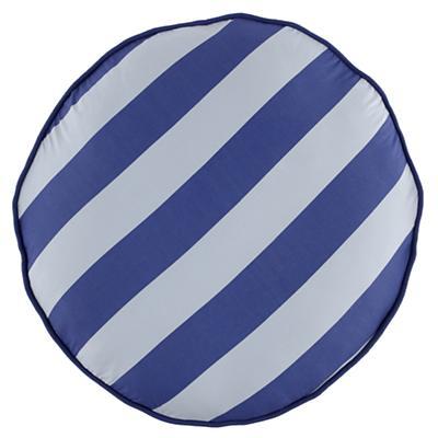 Blue Stripe Floor Cushion