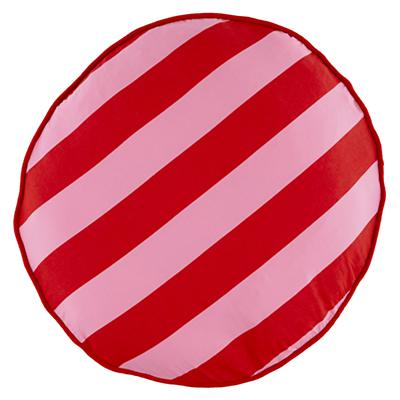 Pink Stripe Floor Cushion