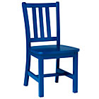"""Cobalt Blue Parker Play ChairFloor to Seat: 14"""" H"""