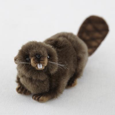 Small Plush Beaver