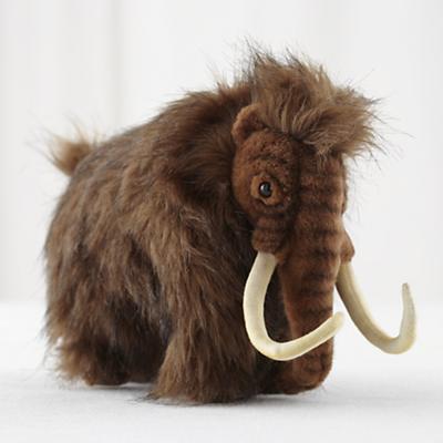 Small Plush Wooly Mammoth