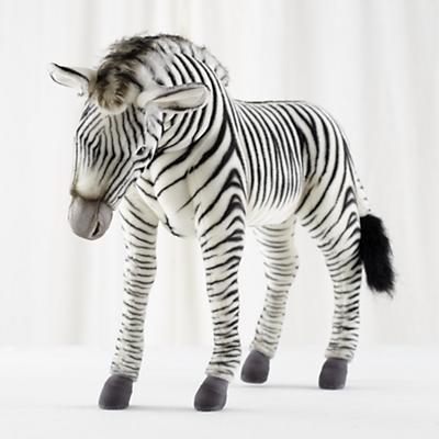 Medium Plush Zebra