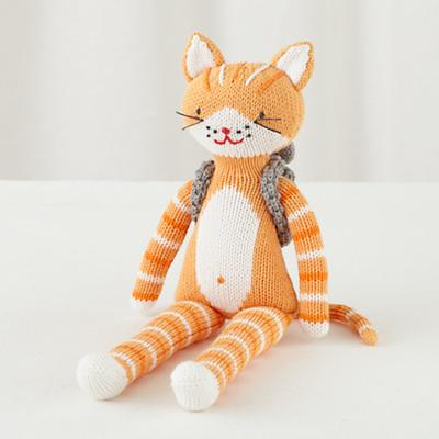 "The 14"" Knit Crowd Cat"