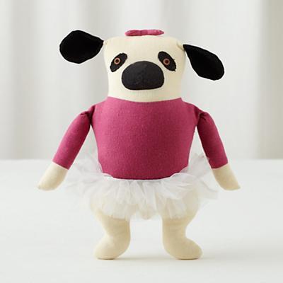 Pink Pug Plush Pooch