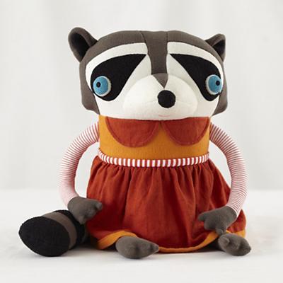 Raccoon Mom Cotton Monster