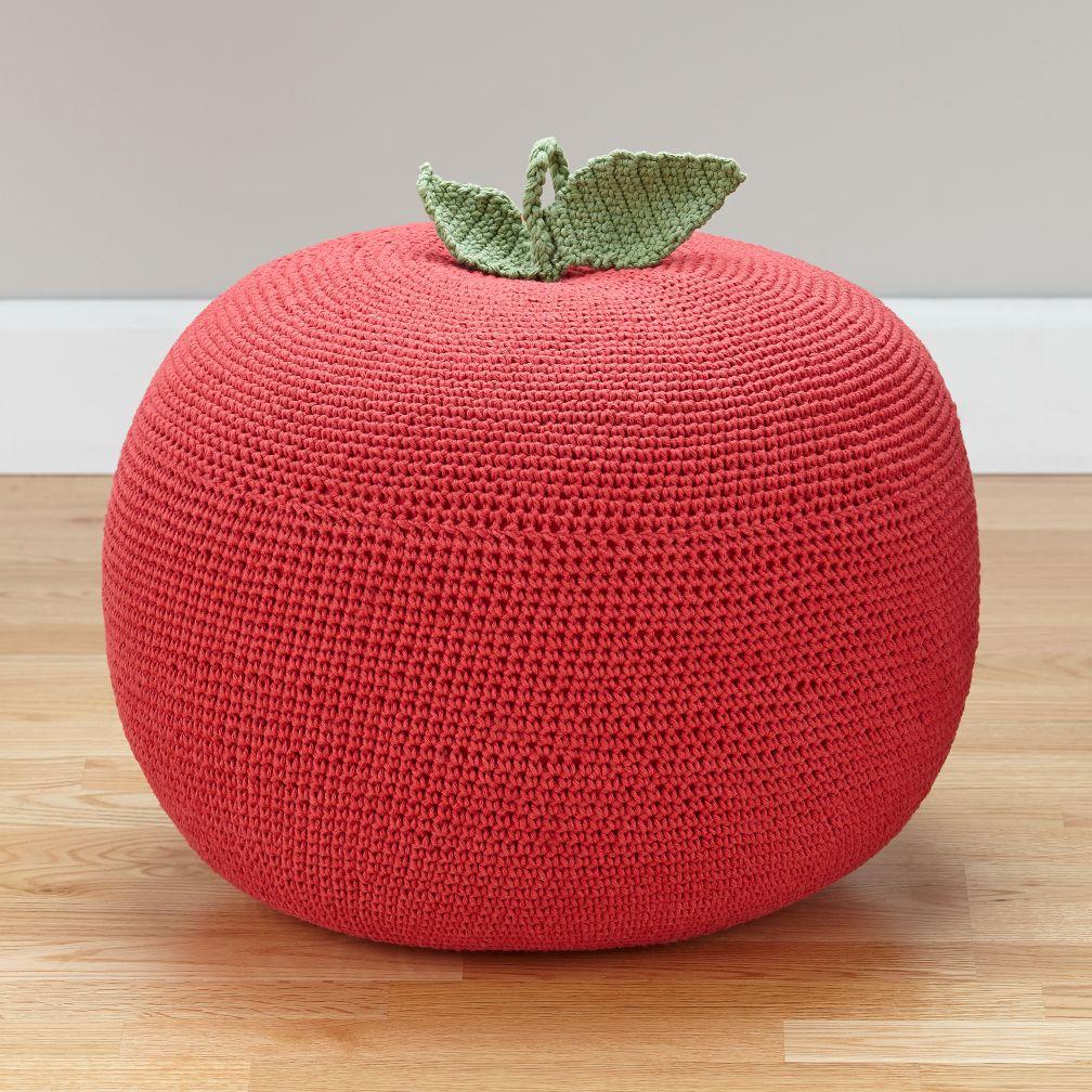 orchard pouf. Black Bedroom Furniture Sets. Home Design Ideas