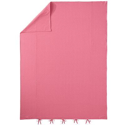 Full-Queen Pink Floral Duvet Cover