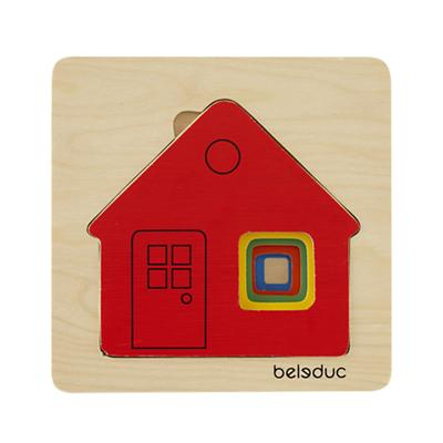 Layer By Layer Puzzle (House)