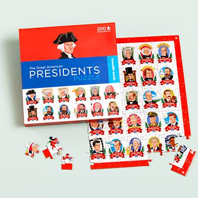 Commander in Piece Presidents Puzzle