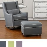Quincy Rocking Chair & Ottoman