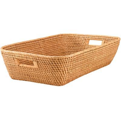 Rattan Changer Basket (Honey)