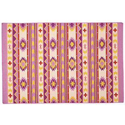 4 x 6' Aztec Support Rug (Purple)