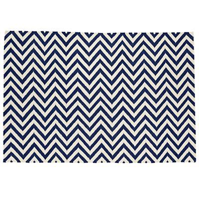5 x 8' Chevron Rug (Dk. Blue)