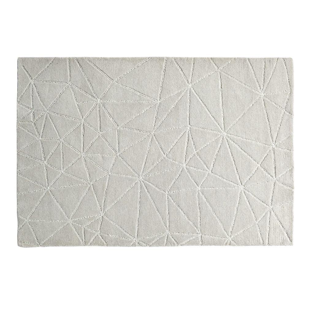 Crystal Mosaic Rug (Grey)