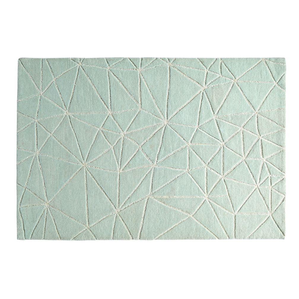 Crystal Mosaic Rug (Mint)