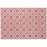4 x 6' Garden Trellis Rug (Pink)