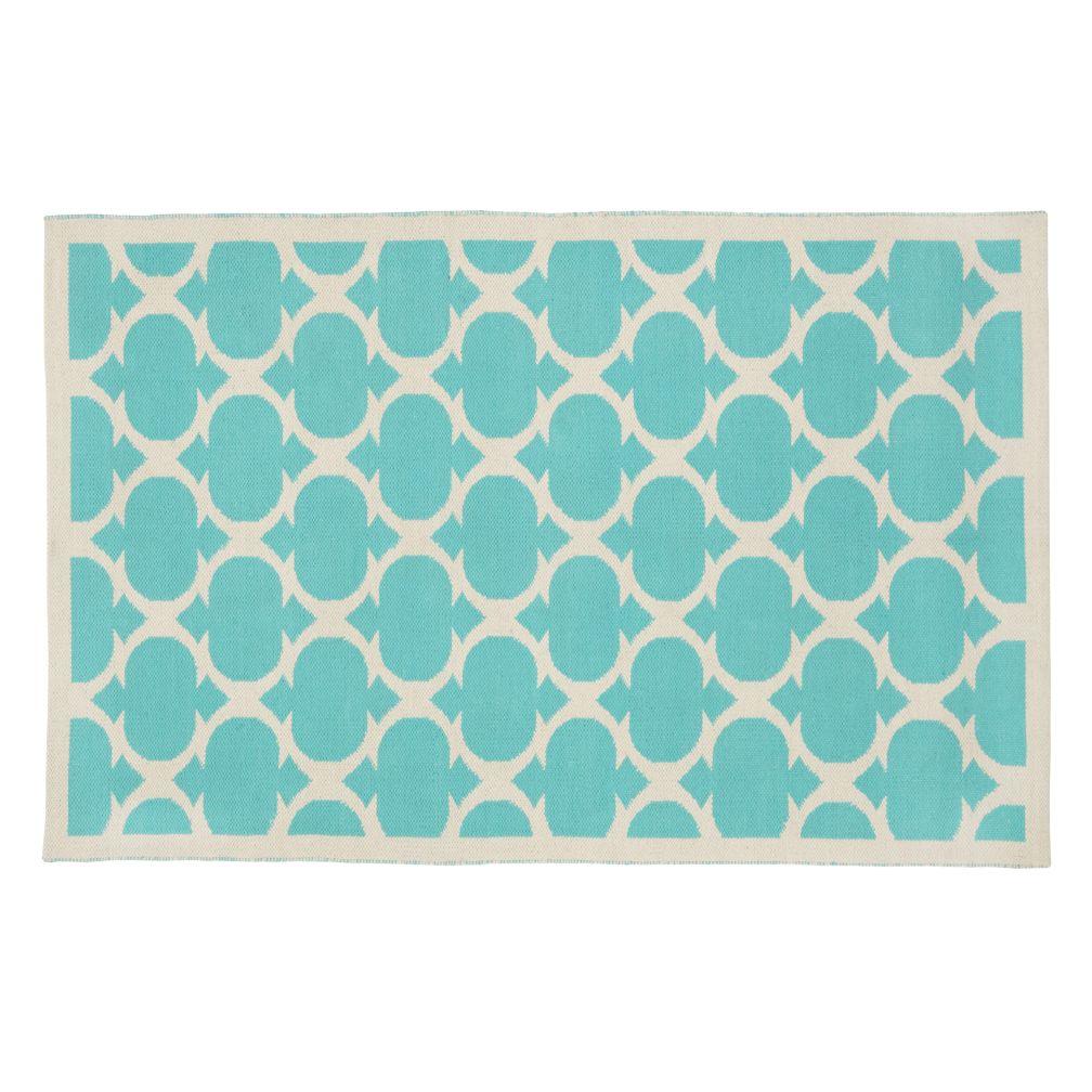 4 x 6' Magic Carpet Rug (Aqua)