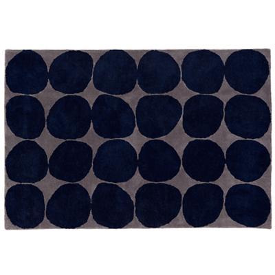8 x 10' Ink Spot Rug (Blue)
