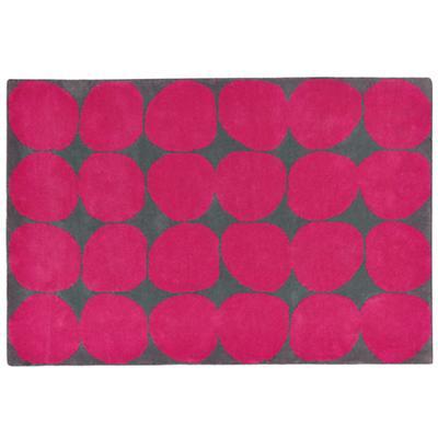 Ink Spot Rug (Pink)