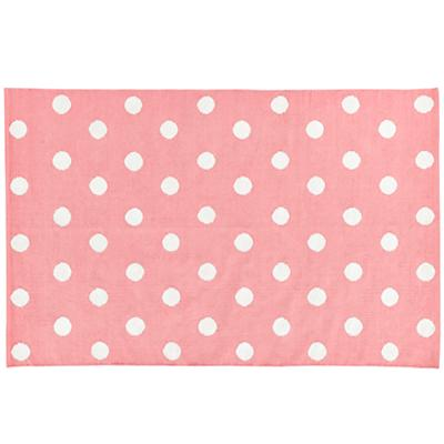 4 x 6' Lotsa Polka Dots Rug (Pink)