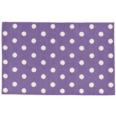 4 x 6' Lotsa Polka Dots Rug (Purple)