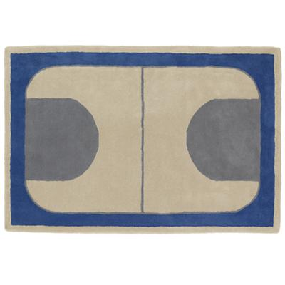8 x 10' Game On Rug (Blue)
