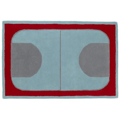4 x 6' Game On Rug (Red)