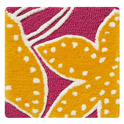 Padded Lily Pink Rug Swatch