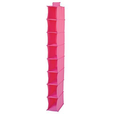 I Think I Canvas Narrow Hanging Organizer (Pink)